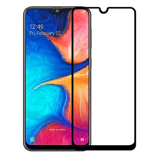 Kính Cường Lực cho Samsung Galaxy A20 - Full màn hình - Màu đen - Hàng Chính Hãng