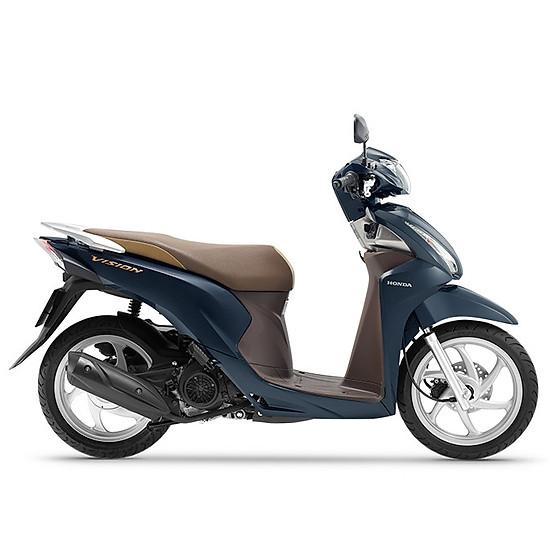 Xe Máy Honda Vision 2019 Bản Cao Cấp Smartkey - Xanh Lam Nâu=34.200.000 ₫