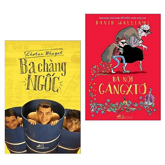 Combo Sách Văn Học Hay:  Ba Chàng Ngốc (Tái Bản 2018) + Bà Nội Găngxtơ (Tái Bản) - (Tặng Kèm Bookmark Greenlife)