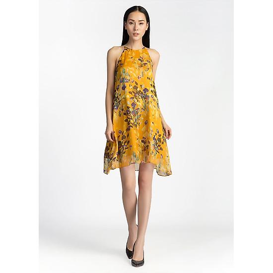 Đầm Suông Nữ Cổ Yếm De Leah
