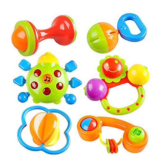 Bộ 7 món đồ chơi xúc xắc cho bé 353 – 355