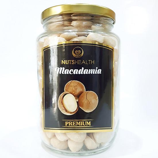 Nhân Hạt Macadamia Vị Muối Biển (500g)