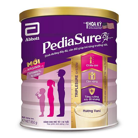 Sữa bột Pediasure B/A hương vani 850g