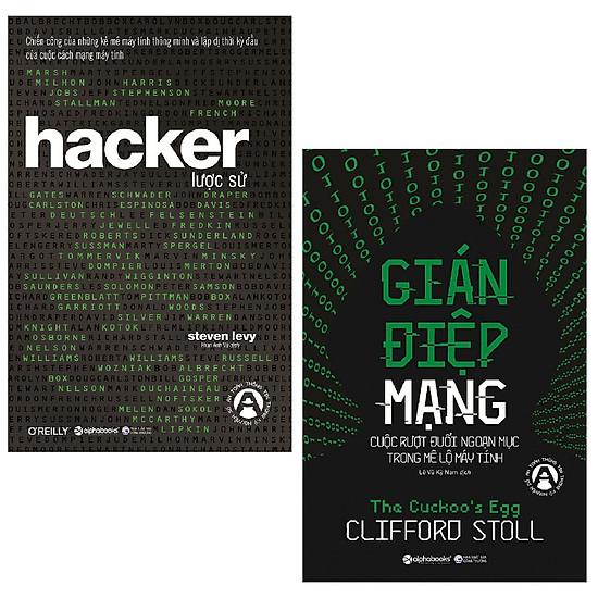 Combo Hacker Lược Sử + Gián Điệp Mạng