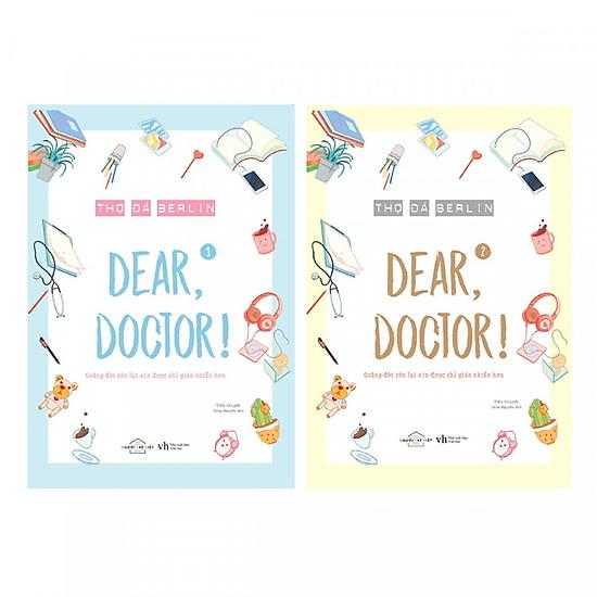 Combo Dear, Doctor (Trọn Bộ 2 tập) - Bản Bặc Biệt Tặng 4 Postcard Siêu Xinh