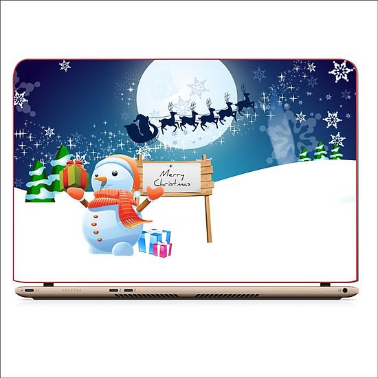 Miếng Skin Dán Decal Laptop Giáng Sinh 2019 – Mã: DCLTGS 007