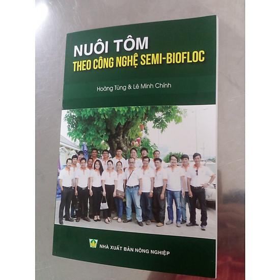 Sách Nuôi Tôm Theo Công Nghệ SEMI-BIOFLOC