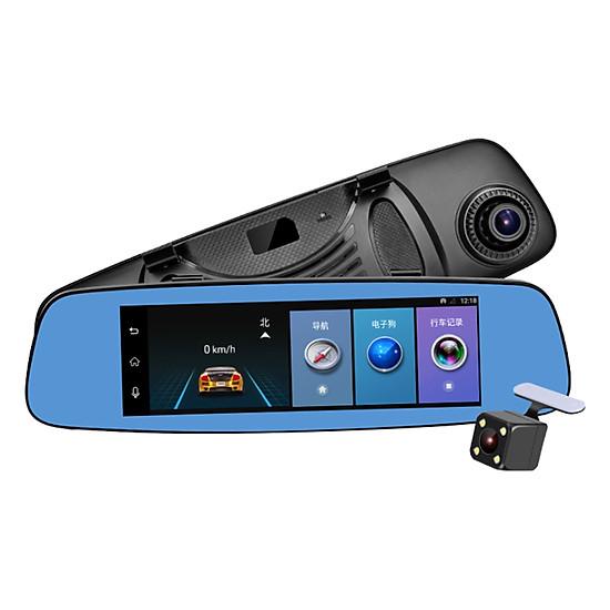 Camera Hành Trình Gương 4G GPS Tích Hợp Camera Lùi E06 - Hàng Nhập Khẩu
