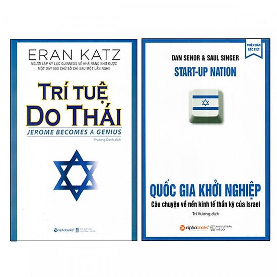 Combo Sách Về Người Do Thái - Trí Tuệ Do Thái và Quốc Gia Khởi Nghiệp (Tái Bản 2018)