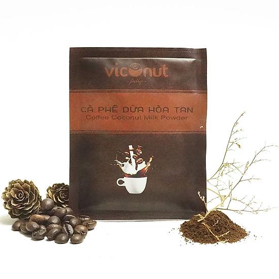 Cà phê dừa hoà tan Viconut (gói 20g)
