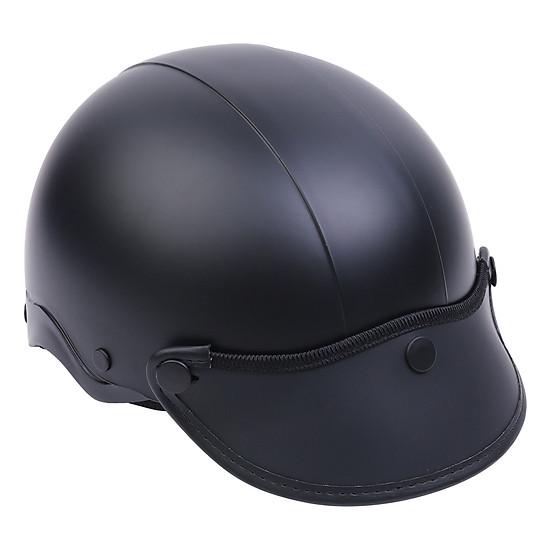 Mũ Bảo Hiểm 1/2 Đầu Napoli NS-N088-BLACK - Đen=115.000 ₫