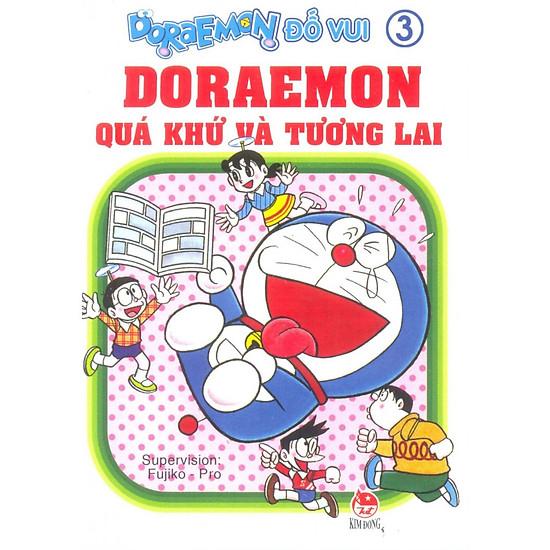 Doraemon Đố Vui (Tập 3) - Doraemon Quá Khứ Và Tương Lai ( Tái Bản )