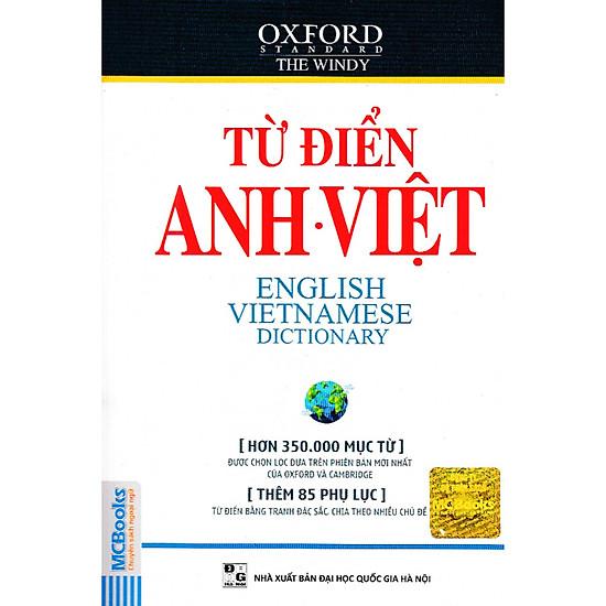 Từ Điển Anh – Việt (Hơn 350.000 Từ) – Tái Bản