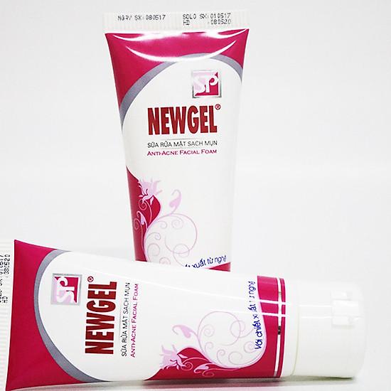 Sữa rửa mặt sạch mụn Newgel