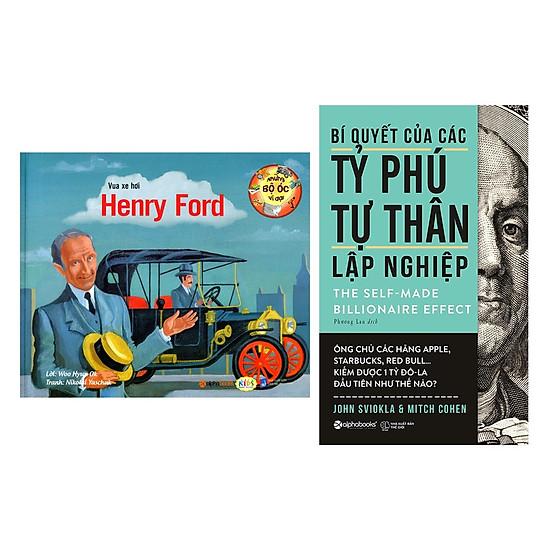 Combo Sách Bí Quyết Kinh Doanh: Những Bộ Óc Vĩ Đại – Vua Xe Hơi Henry Ford + Bí Quyết Của