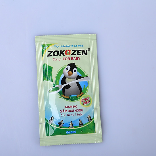 Thực phẩm chức năng Thảo dược trị ho cho trẻ em ZOKOZEN SYRUP FOR BABY