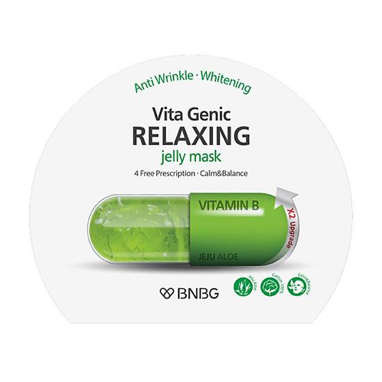Combo 10 gói Mặt nạ giấy BNBG Vita Genic Jelly Mask 30ml x10 (Lifting, Whitening, Relaxing, Hydrating)