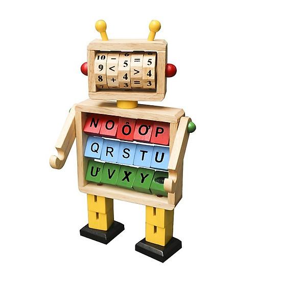 Robot Học Toán Và Chữ Cái  - Đồ chơi thông minh