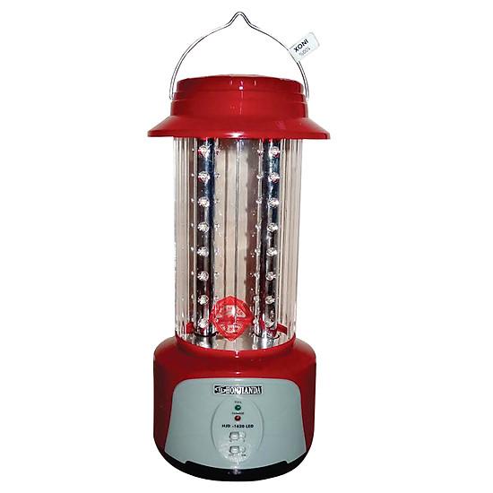 Đèn Sạc Chiếu Sáng Honjianda HJD-1620L 6W - Đỏ