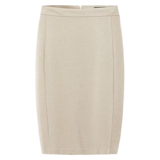 Hình đại diện sản phẩm Chân Váy Bút Chì Pencil Skirt The Cosmo - Sand