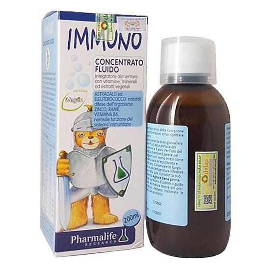 Thực Phẩm Chức Năng Thảo Dược Tăng Cường Miễn Dịch Tự Nhiên Cho Bé Immuno Bimbi (200ml)