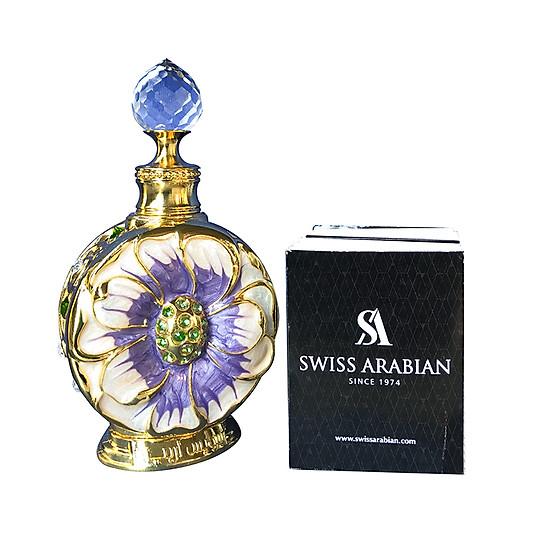 Nước hoa tinh dầu dubai Swiss Arabian Layali xanh