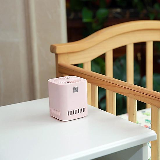 Máy lọc không khí Xiaomi Mini xúc tác quang formaldehyde Sạc USB không dây phù hợp white-7