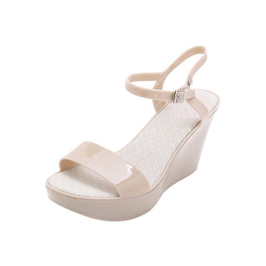 Giày Sandal Đế Xuồng Faux Pas Ad Trocadero Wedge - Ash