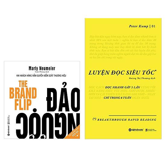 Combo Sách Kỹ Năng Làm Việc : Luyện Đọc Siêu Tốc + Đảo Ngược