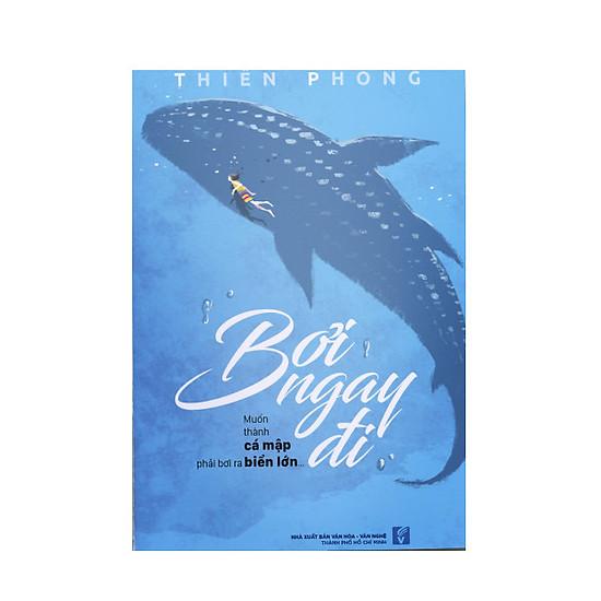 Bơi ngay đi - Muốn thành cá mập phải bơi ra biển lớn