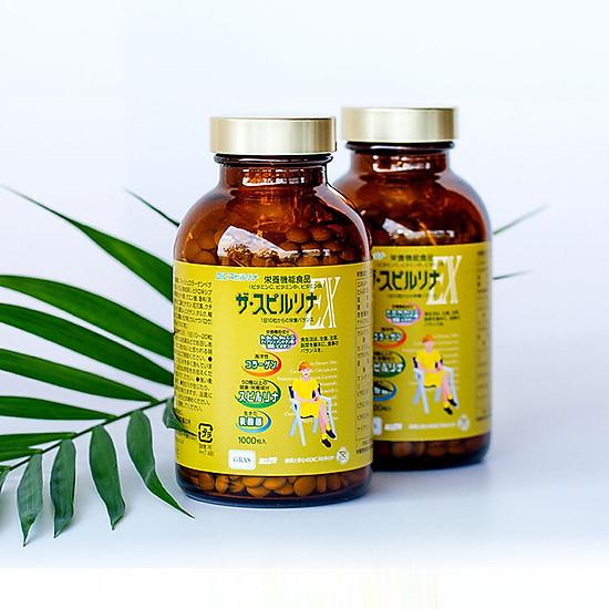 Chăm sóc sức khỏe toàn diện cùng tảo vàng EX cao cấp - 274491
