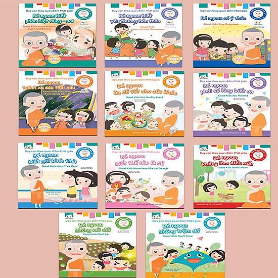 Sách – Dạy Con Theo Quan Điểm Phật Giáo Combo 11 cuốn