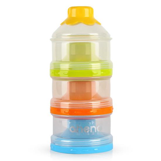 Hình đại diện sản phẩm Enno portable baby milk storage box baby independent detachable milk powder three-layer milk powder grid