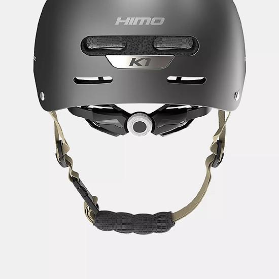 Mũ Bảo Hiểm Xiaomi Youpin Himo K1 Thoáng Mát Chắc Chắn Kháng Khuẩn Chống Ẩm - Xám-1