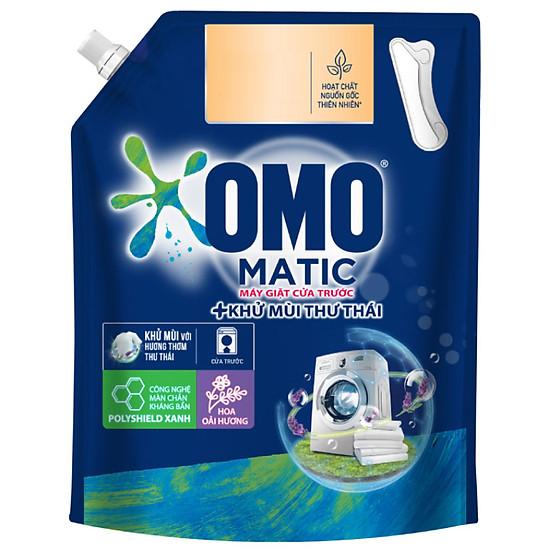 Túi nước giặt Omo matic cửa trước khử mùi thư thái 3.7kg-1