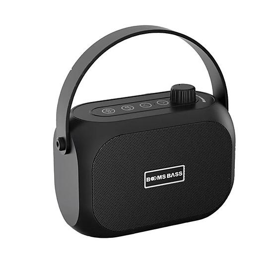 Loa bluetooth không dây mini LANITH bass mạnh Boombass L15 - Tặng cáp sạc 3 đầu – Thiết kế nhỏ gọn, thời trang – Kết nối không dây bluetooth, kết nối USB, thẻ nhớ - LB000015.CAP0001 - Đen-0