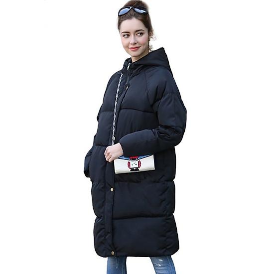 Áo khoác phao nữ dáng dài Zavans