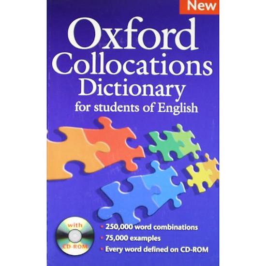 Hình đại diện sản phẩm Oxford Collocations Dictionary New Edition Dictionary (Book+CD)