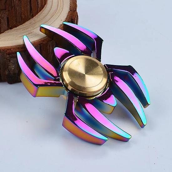 Con Quay Hand Fidget Spinner hình nhện 2 cánh 60-150 giây Legaxi HSCR