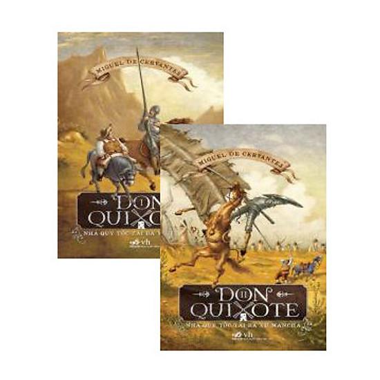 Don Quixote (Trọn Bộ 2 Tập) - Tái Bản