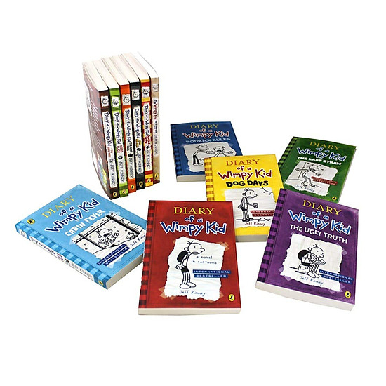 Diary Of A Wimpy Kid: Wimpy Kid 12 Books Set - Nhật Ký Chú Bé Nhút Nhát