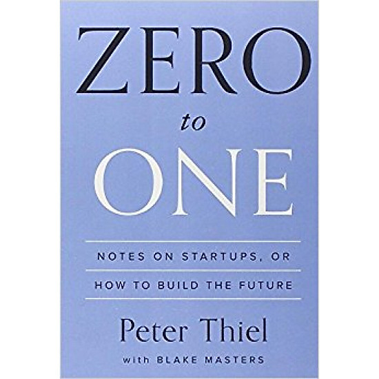 Hình đại diện sản phẩm Zero to One Notes on Startups or How to Build the Future