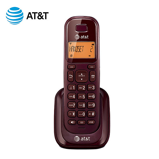 AT&T EL30109R red digital cordless telephone substation fixed wireless can not be used alone