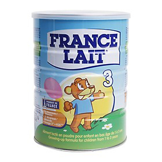 Sữa bột France Lait số 3 (900g)  –  Dinh dưỡng cho trẻ từ 1 -3 tuổi