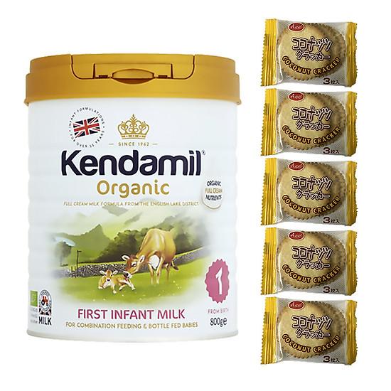 Sữa Nguyên kem công thức hữu cơ KENDAMIL ORGANNIC số 1: ORGANIC FIRST INFANT MILK (800G)