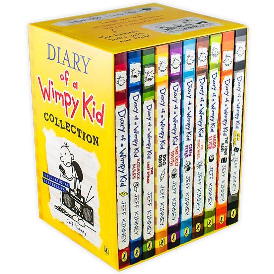 Hình đại diện sản phẩm Diary of a Wimpy Kid Collection 10 Books Box Set (Yellow Box)