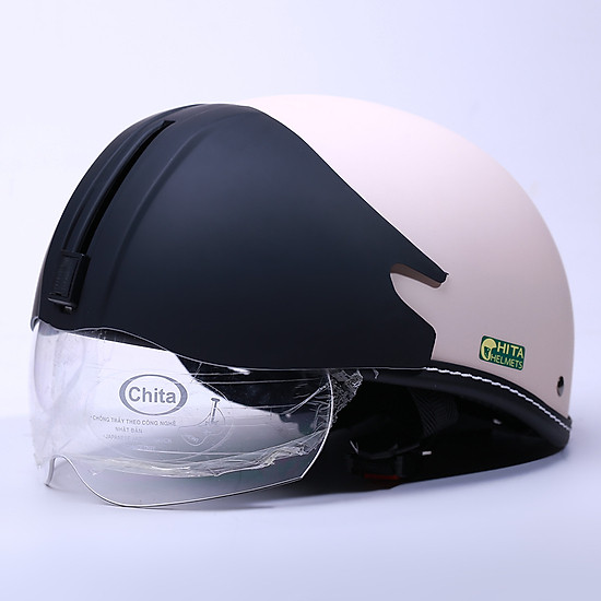Mũ Bảo Hiểm Chita- 1/2 đầu CT6B1(GK) - Hàng Chính Hãng=180.000đ