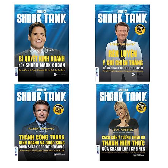 Combo 4 cuốn shark tank