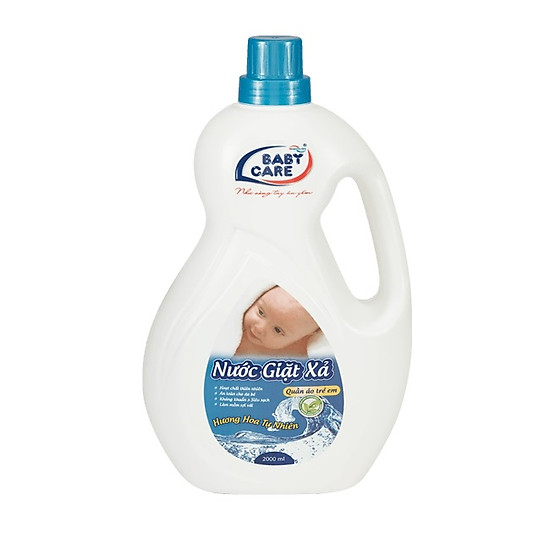 Nước Giặt Xả Baby Care  2 Lít – Hương Hoa Tự Nhiên