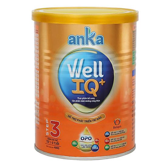Sữa Anka Milk Well IQ+ Step 3 400g
